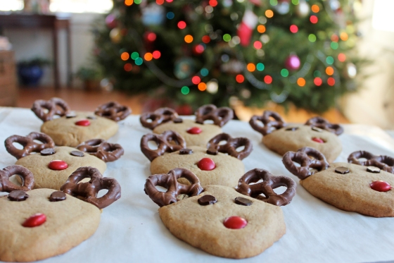 Peanut Butter Reindeer Cookies If You Give A Blonde A Kitchen