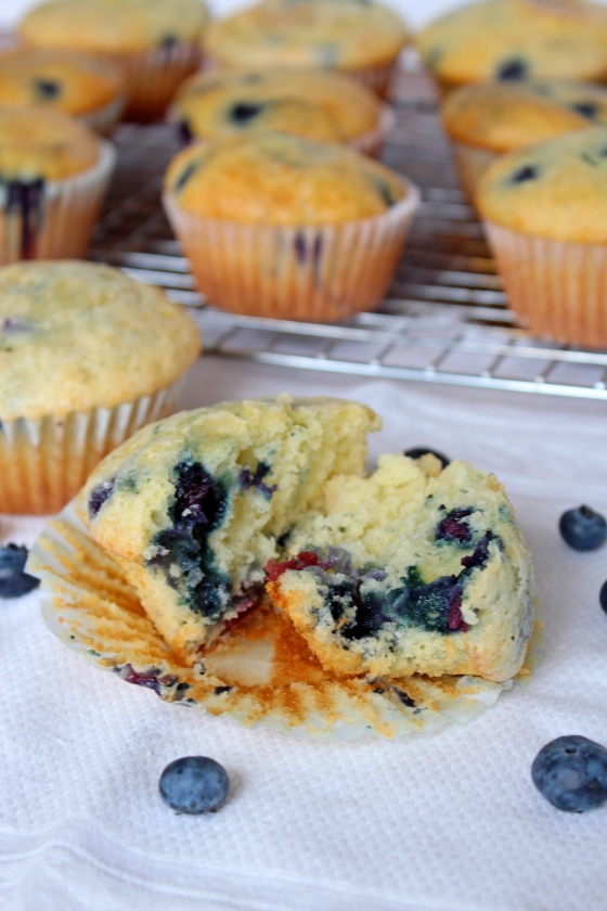 Blueberry Muffins   If You Give A Blonde A Kitchen