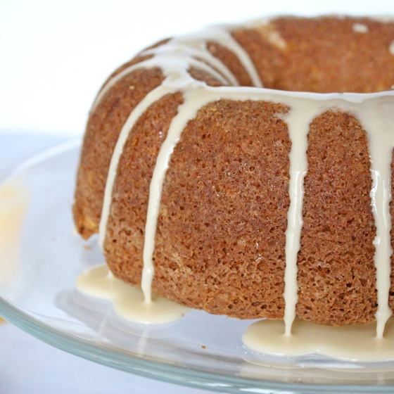Cinnamon Coffee Cake with Maple Glaze | If You Give A Blonde A Kitchen