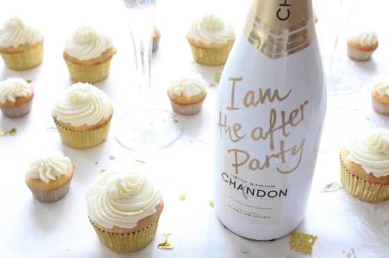 Cocktail Cupcakes: Champagne Cupcakes | If You Give a Blonde a Kitchen