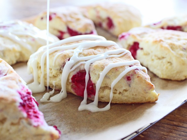 Lemon Raspberry Scones | If You Give a Blonde a Kitchen